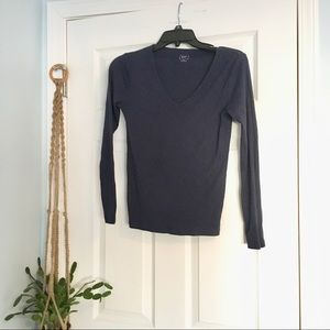 GAP Tops - GAP Navy Blue V-Neck T-shirt for Layering